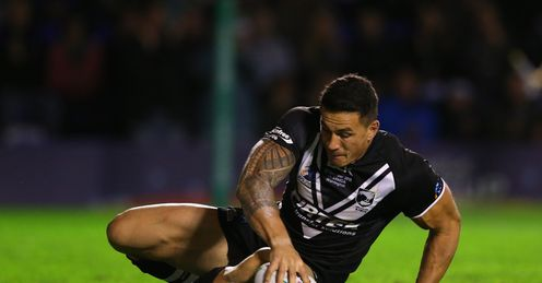 RUGBY LEAGUE WORLD CUP Sonny BILL WILLIAMS New Zealand SAMOA