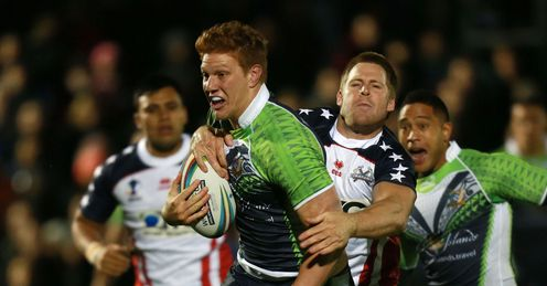 RUGBY LEAGUE WORLD CUP USA  COOK ISLANDS DYLAN NAPA