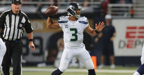Russell Wilson getting better and better