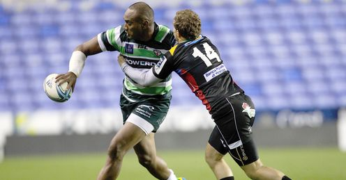 Sailosi Tagicakibau Amlin Challenge Cup London Irish Madesjski Stadium Rugby union