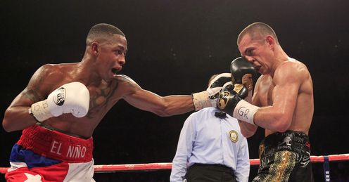 Quigg (right): Draw with Salinas not ideal, but will improve Scott, says Johnny Nelson