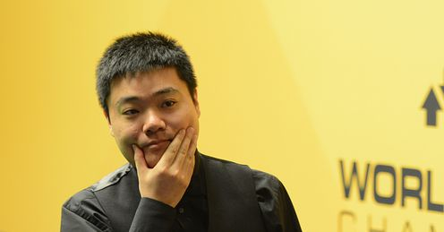 Ding Junhui: playing like a man ready to rule the world