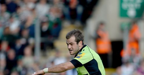 Stephen Myler  Northampton Saints  Aviva Premiership