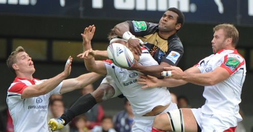 Timoci Nagusa Roger Wilson Jared Payne Montpellier Ulster Heineken Cup