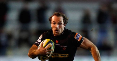 Will Harries Newport Gwent Dragons Rugby Union LV= Cup Rodney Parade