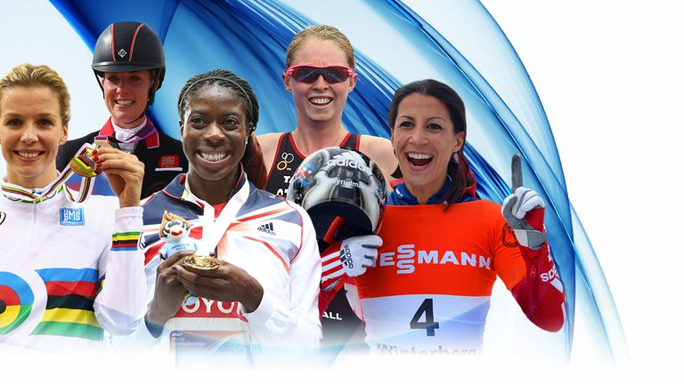 A look at some of the other nominations for the Sportswomen of the year awards.