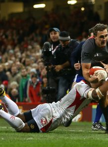 Wales v Tonga: Ashley Beck
