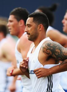 Benji Marshall Blues pre season training 2013