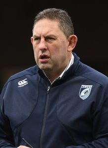 Cardiff Blues boss Phil Davies