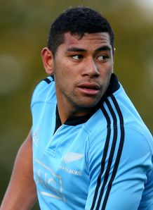Charles Piutau All blacks trainiing 2013