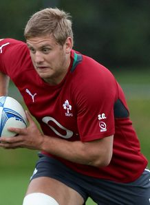 Chris Henry at Ireland training