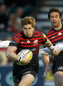 David Strettle Saracens 2013