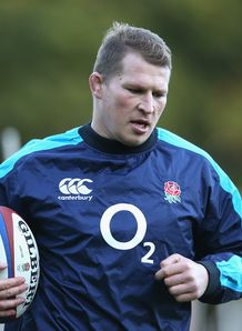 Dylan Hartley England training