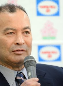 Eddie Jones Japan coach 2013