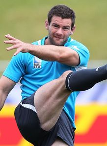 Fergus McFadden Ire training RWC 2011