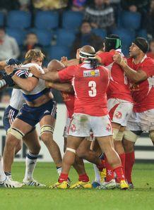 France Tonga fight