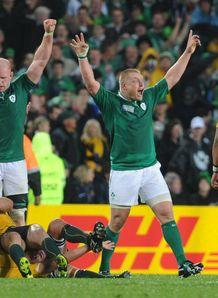 Ireland celebrate 2011 win