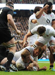 Joe Launchbury v New Zealand