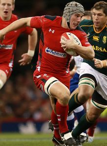 Jonathan Davies Wales and Clermont Auvergne 2013