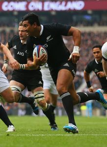 Julian Savea New Zealand try v England 2013
