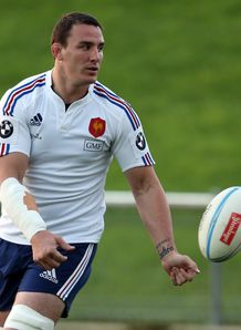 Louis Picamoles France training 2013