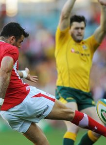 Mike Phillips Wales v Aus 2013