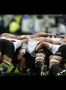 New zealand All blacks scrum