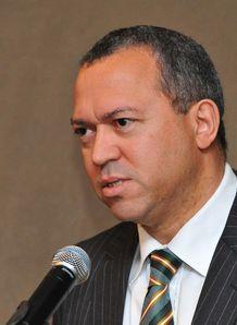 Oregan Hoskins SARU President 2013