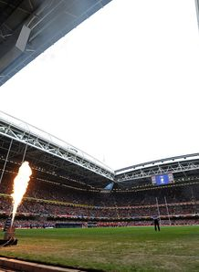 The Millennium Stadium roof remains open