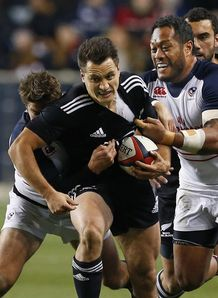 Tim Bateman New Zealand Maori v Andrew Suniula USA Eagles