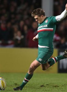 Toby Flood Leicester Tigers 2013