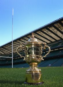 SKY_MOBILE Webb Ellis Trophy Twickenham Stadium