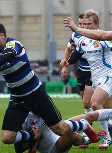 LV= Cup: Neal Hatley praises 'hungry' Bath after win over Exeter