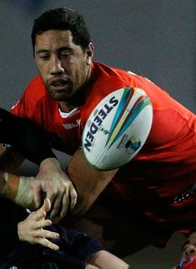 Rugby League World Cup: Tonga hoping Scotland slip up as Cook Islands exit event