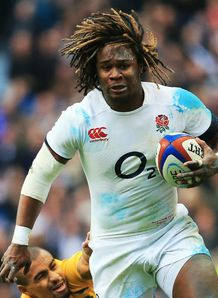 Marland Yarde England Autumn International Australia 2013