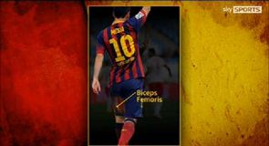 Messi's 'Biceps Femoris'