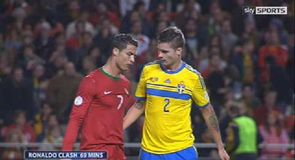 Should Ronaldo have seen red?