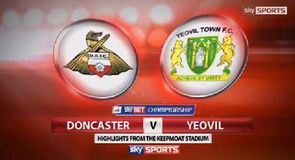 Doncaster v Yeovil - Highlights