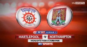 Hartlepool 2-0 Northampton