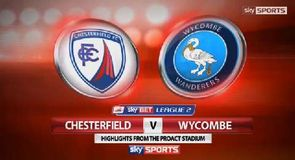Chesterfield 2-0 Wycombe