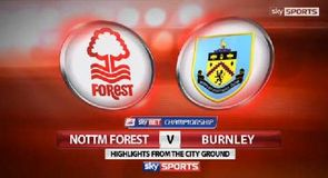 Nottm Forest 1-1 Burnley