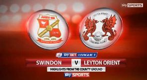 Swindon 1-3 Leyton Orient