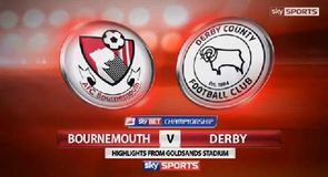 Bournemouth 0-1 Derby
