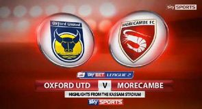 Oxford 3-0 Morecambe