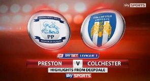 Preston 1-1 Colchester