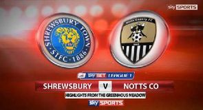 Shrewsbury 1-0 Notts Co
