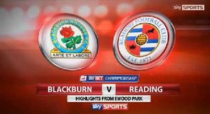 Blackburn 0-0 Reading