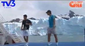 Nadal and Djokovic's ferry face off