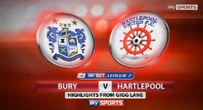 Bury 1-0 Hartlepool