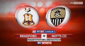 Bradford 1-1 Notts County